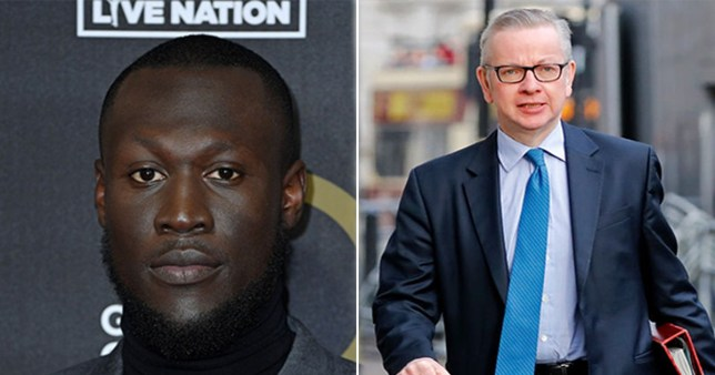 Stormzy warns Michael Gove he picked the 'wrong f***ing rapper' following dismissive General Election tweet