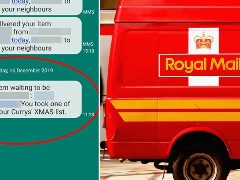 Don't fall for Royal Mail text scam that says you've won an iPhone