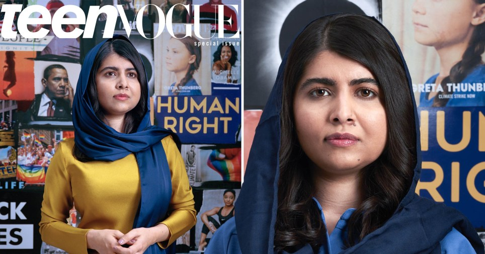 Malala is now a covergirl