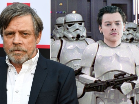 Star Wars' Mark Hamill may have just revealed Harry Styles is in The Rise Of Skywalker