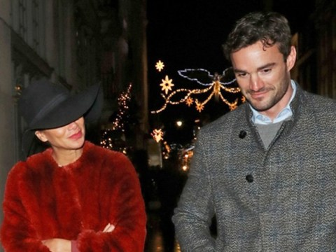 Nicole Scherzinger and Thom Evans keep on fuelling romance rumours on festive shopping trip