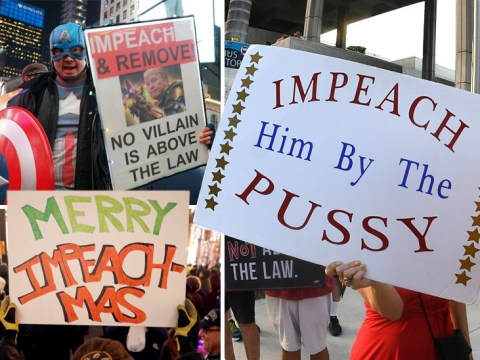 Best anti-Trump posters as President faces impeachment charges