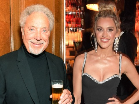 Tom Jones parties with Pussycat Dolls' Ashley Roberts at Tramp 50th anniversary party