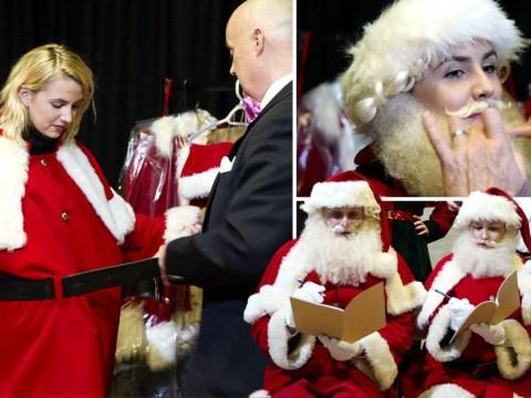 Beards worth £1000 and reindeer recitals – Santa School is harder than it looks