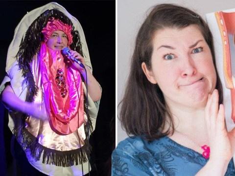 'I dress up as a vulva to teach women about incontinence'