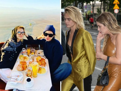 Cara Delevingne surprises Ashley Benson with thrill-seeking birthday trip to Morocco