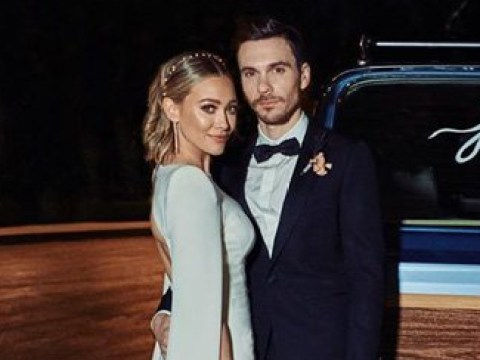 Hilary Duff shares first loved up picture from low-key wedding to Matthew Koma
