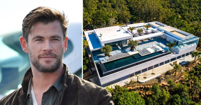 Chris Hemsworth's house in Byron Bay