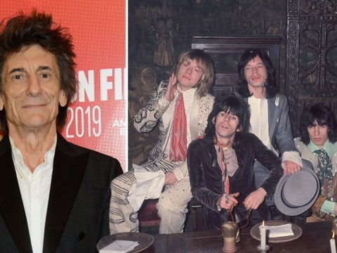 The Rolling Stones rocker Ronnie Wood says they're 'indestructible' after beating serious health scares