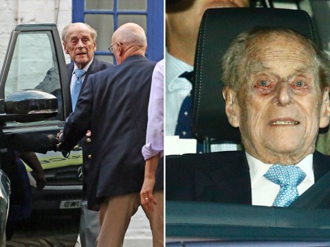 Prince Philip leaves hospital in time for Christmas with the Queen