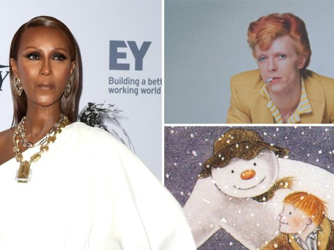 David Bowie's wife Iman remembers late singer on Christmas Day with heartfelt story about The Snowman