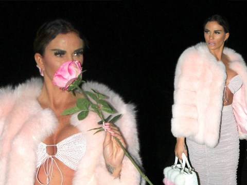 Katie Price pulls out all the stops for glam night out on Boxing Day