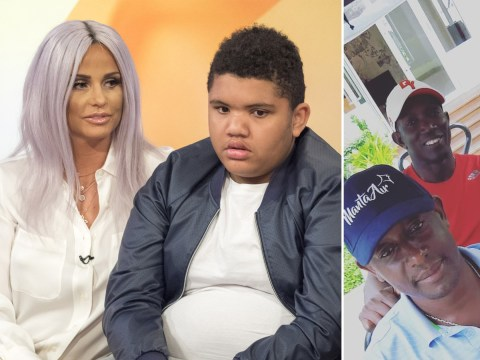 Dwight Yorke jets to the Maldives after Katie Price begs him to meet estranged son Harvey
