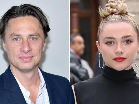 Florence Pugh shuts down troll over age gap with boyfriend Zach Braff in sassiest way possible