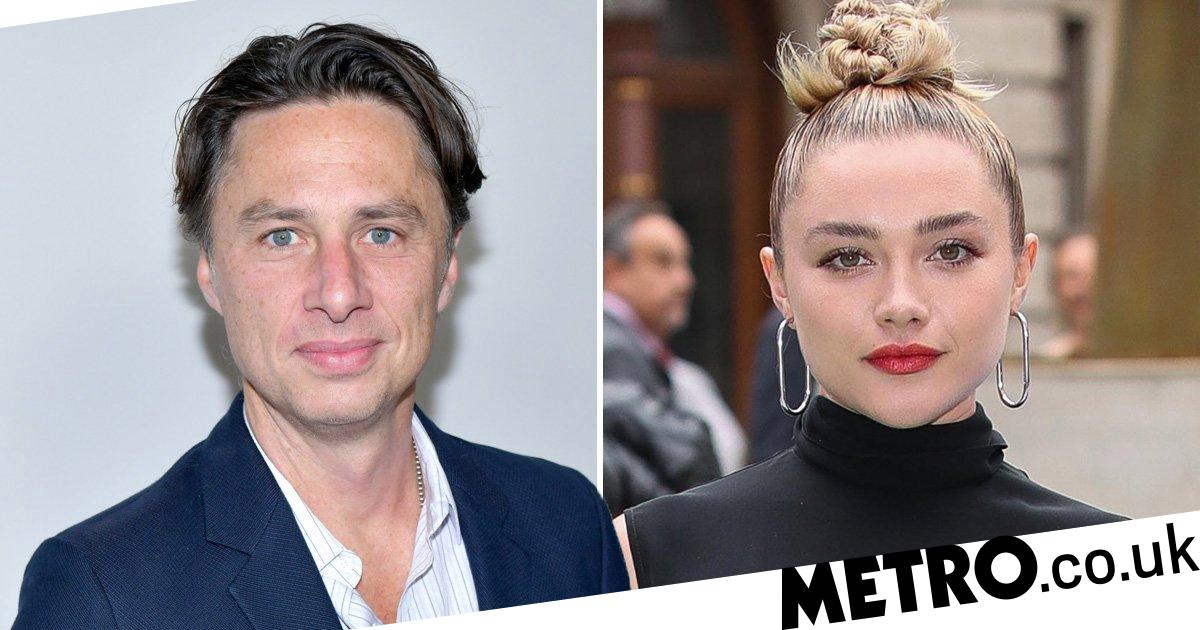 Florence Pugh claps back as trolls 'hurl abuse' at Zach Braff age-gap