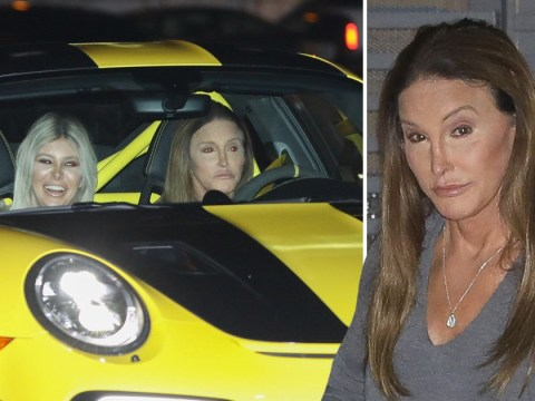 Sophia Hutchins beams as she joins Caitlyn Jenner for dinner with Kylie at Nobu following I'm A Celebrity