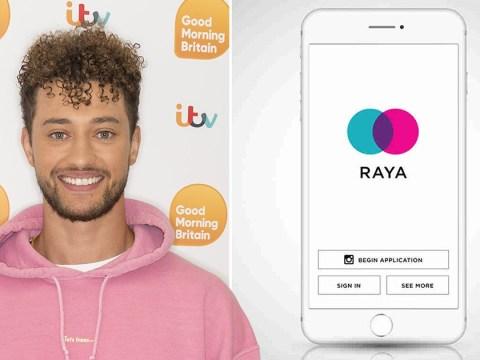 Myles Stephenson confirms using celeb dating app Raya and jokes he 'likes the older woman'