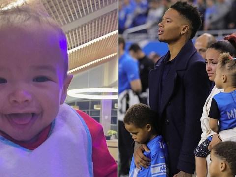 Marlo Jones Jr's mourns as baby boy dies at just six months