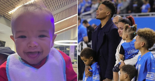 NFL star Marvin Jones Jr and his family are mourning the tragic loss of their baby boy (Picture: Marvin Jones Jr/Instagram)