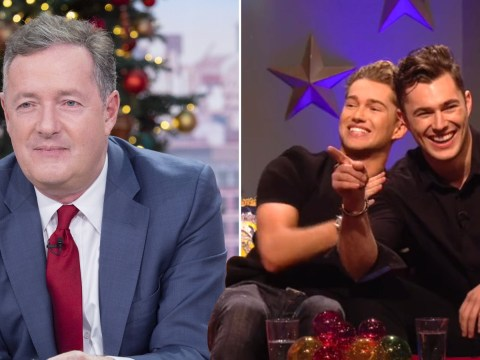 AJ Pritchard thought Piers Morgan got down and dirty with Jon Snow and we can't unsee it