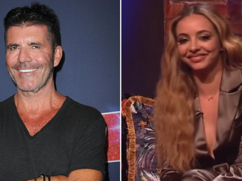 Jade Thirlwall gets a little too aggressive when answering question about 'loser' Simon Cowell after X Factor war