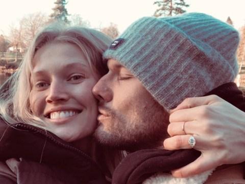Leonardo DiCaprio's ex-girlfriend Toni Garrn engaged to Alex Pettyfer after Christmas Eve proposal