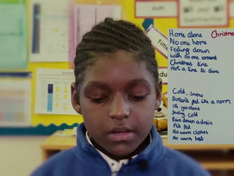 Boy's heartbreaking poem says childhood poverty hasn't changed since Victorian times