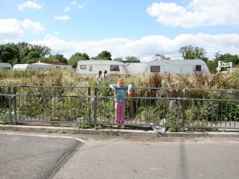 Travellers in showdown over 'racist' council order keeping them off open land