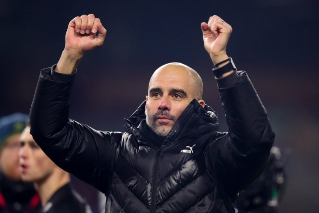 Pep Guardiola has reminded Liverpool of Man City's fixture pile-up last season