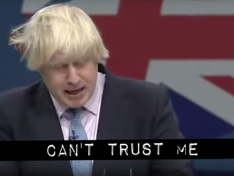 Cassetteboy strikes again with brutal 'can't trust me' take down of Boris