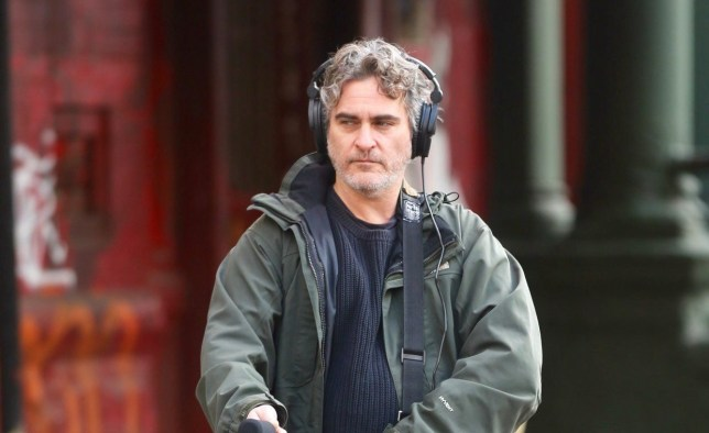Fresh off the success of Joker, Joaquin Phoenix is spotted playing what seems to be a sound recordist while shooting a movie in New York. The untitled project, under the direction of Mike Mills, will also be starring Gaby Hoffman. 05 Dec 2019 Pictured: Joaquin Phoenix. Photo credit: SteveSands/NewYorkNewswire/MEGA TheMegaAgency.com +1 888 505 6342