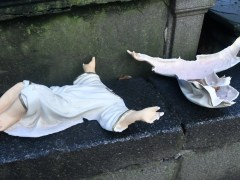 Baby Jesus decapitated after vandals wreck church's nativity scene