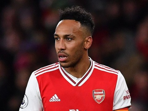Jamie Carragher hits out at Pierre-Emerick Aubameyang during Arsenal's defeat to Manchester City