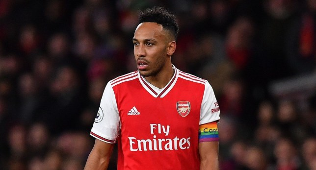 Arsenal striker Pierre-Emerick Aubameyang has reportedly told Barcelona he would join them
