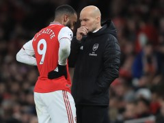 Freddie Ljungberg reveals what he told Arsenal's 'scared' players during Brighton defeat