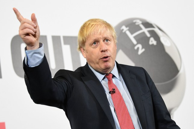 Prime Minister Boris Johnson speaks during a visit to the Kent Event Centre, Maidstone, while on the election campaign trail. PA Photo. Picture date: Friday December 6, 2019. See PA story POLITICS Election. Photo credit should read: Stefan Rousseau/PA Wire