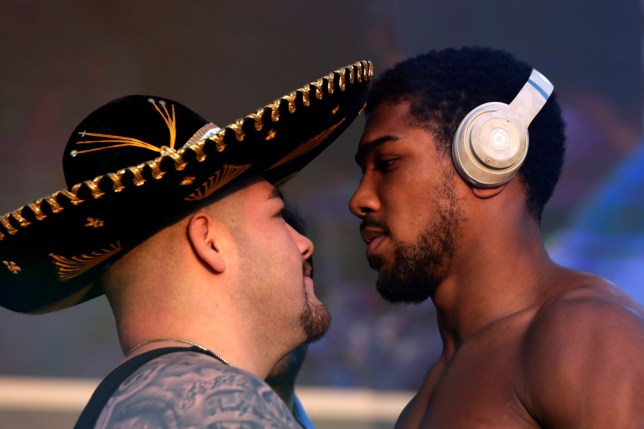 Anthony Joshua faces off with Andy Ruiz Jr for the final time before their heavyweight rematch