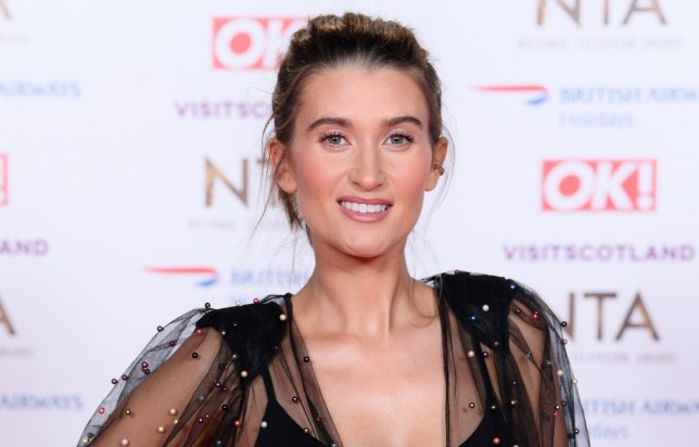 Mandatory Credit: Photo by David Fisher/REX (10069666yd) Charley Webb 23rd National Television Awards, Arrivals, O2, London, UK - 22 Jan 2019