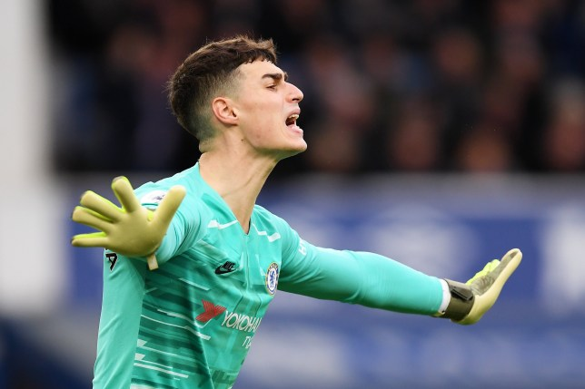 Chelsea goalkeeper Kepa was badly at fault for Everton's third goal in their win at Goodison Park