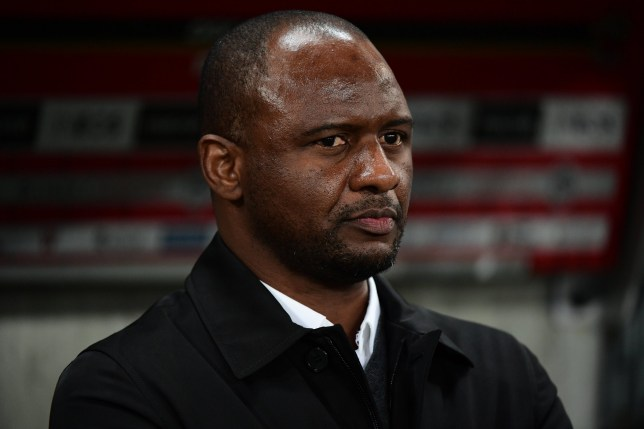 Patrick Vieira is a candidate to become Arsenal's new manager