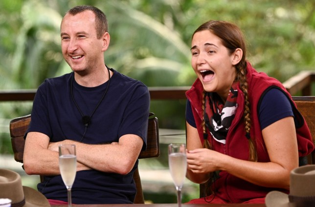 Andy Whyment and Jacquline
