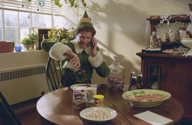 Will Ferrell in a scene from Elf