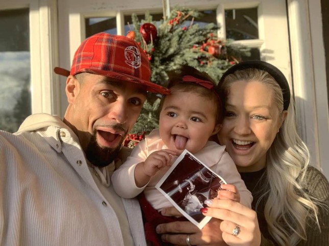 Pictiure: @ashleybanjogram Ashley Banjo reveals wife is having a baby 10 months after giving birth