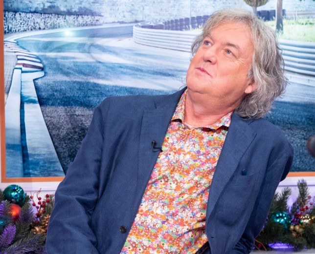 Editorial use only Mandatory Credit: Photo by Ken McKay/ITV/REX (10495953bs) James May 'Good Morning Britain' TV show, London, UK - 10 Dec 2019