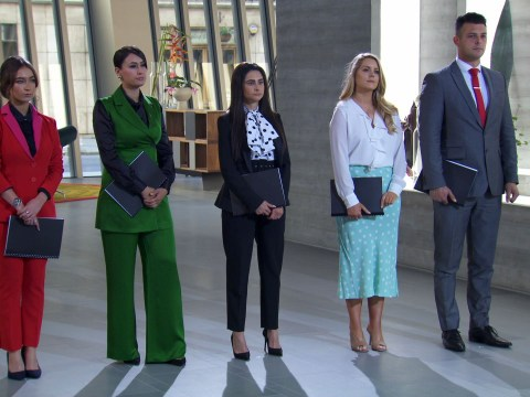 Who is in the final of The Apprentice?