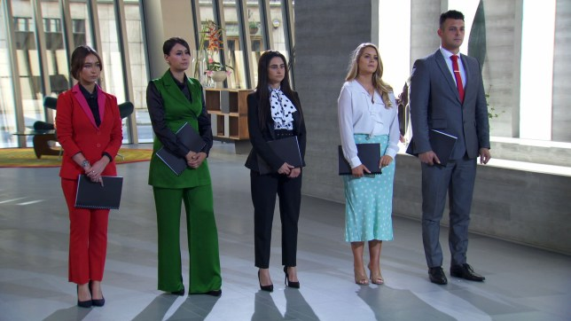 The final five on The Apprentice