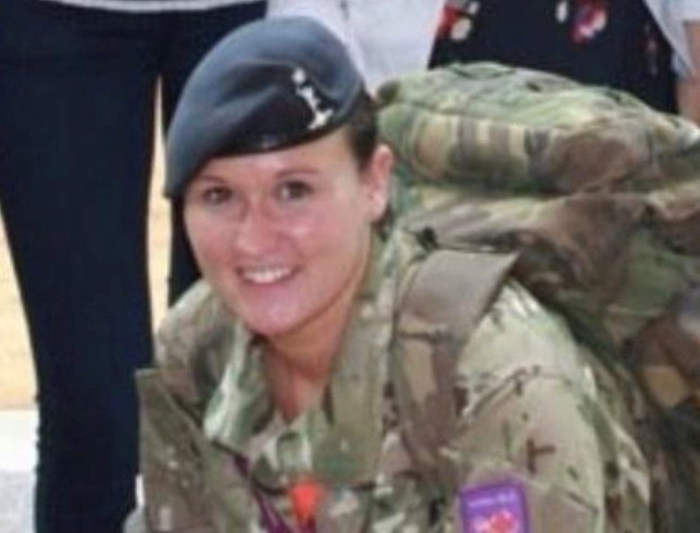 Gemma served in the Army for nine years