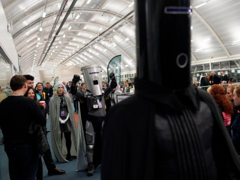 Lord Buckethead and Count Binface clash in Boris Johnson's constituency