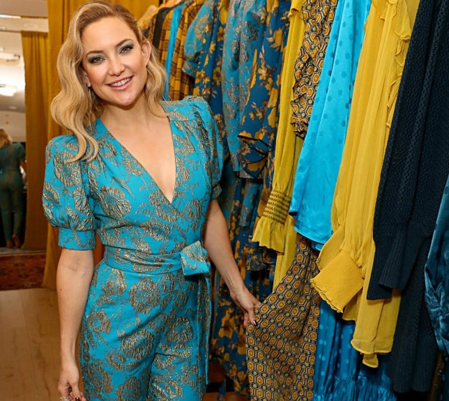 VENICE, CALIFORNIA - DECEMBER 12: Kate Hudson hosts a cocktail event to celebrate Happy X Nature Eco-Evening Collection at The Butchers Daughter on December 12, 2019 in Venice, California. (Photo by Joe Scarnici/Getty Images for Happy X Nature)