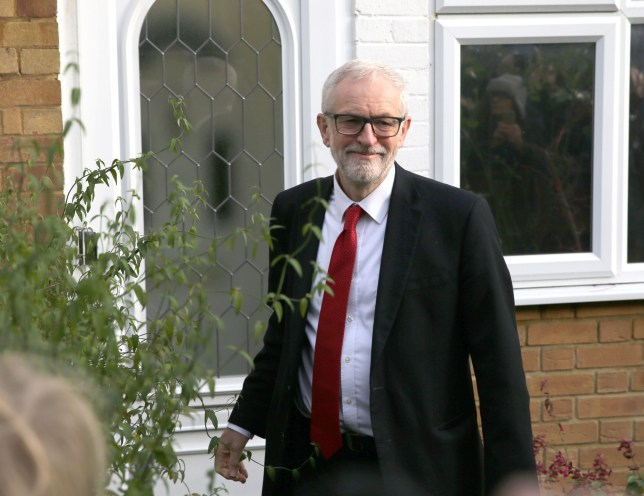 Labour Party leader Jeremy Corbyn leaves his home in Islington, north London, after the Conservative Party was returned to power in the General Election with an increased majority in Labour's worst performance since 1935. PA Photo. Picture date: Friday December 13, 2019. See PA story POLITICS ELection. Photo credit should read: Isabel Infantes/PA Wire